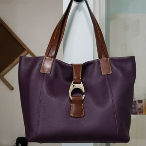 Dooney & Bourke East West Derby leather tote